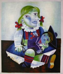 Picasso-Maya-Poupée